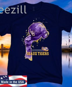 LSU Tigers Rising Baseball Hat T Shirt