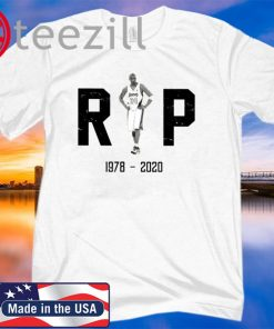 NBA RIP Kobe Bryant 1987 - 2020 Memorial T-Shirt