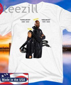 Rip Black mamba and Gigi Bryant T-shirt Unisex, Long Sleeve