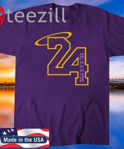 Rip Kobe Bryant 24 33 643 PTS T-Shirts