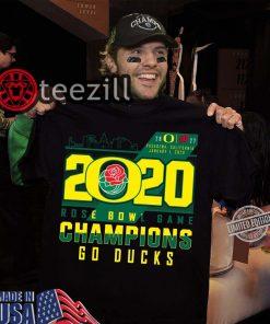 Rose Bowl Champions Ducks 2020 Shirt