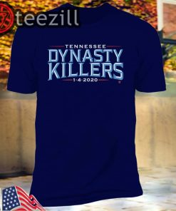 Tennessee football fans need this Dynasty Killers T-shirt