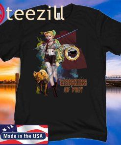 Harley Quinn San Washington Redskins Of Prey Official Shirt