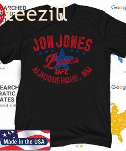 Jon Jones Bones UFC Albuquerque TShirt