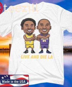 "NBA Los Angeles Lakers Kobe Bryant ""Live and Die LA"" T-Shirt"