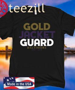 GOLD JACKET GUARD UNISEX SHIRT