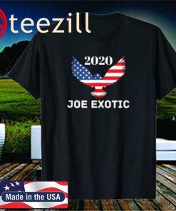 Joe Exotic 2020 Tiger King for President Unisex Shirt