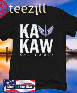 Logo Battlehawks Football St Louis Fans Ka Kaw T-Shirt