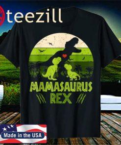 Mamasaurus Dinosaur Shirt Rex Mother Day For Mom Gift