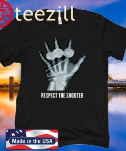 Respect The Shooter X-Ray Classic T-Shirts