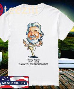 Rip Kenny Rogers 1938-2020 US T-Shirt