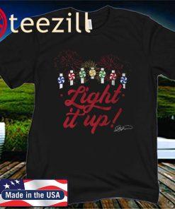 Ed Farmer Shirt, Light It Up, Chicago - MLBPAA Official