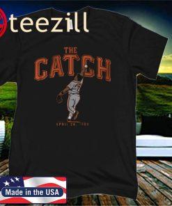 Kevin Mitchell Catch Shirt, San Francisco - MLBPAA Licensed