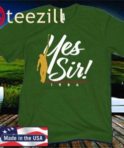 Yes Sir 1986 T-Shirt Jack Nicklaus