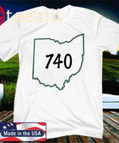 Joe Burrow 740 Shirt - Ohio 740 T-Shirt