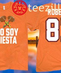 Rob Gronkowski Wears Yo Soy Fiesta T-Shirt
