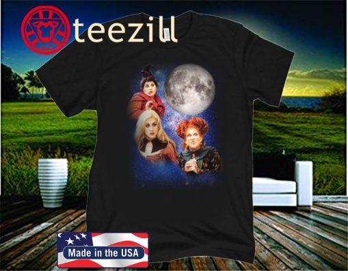 Three Hocus Pocus Moon Of Halloween 2020 T-Shirt