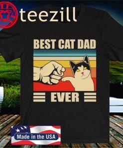 Best Cat Dad Ever - Best Cat Daddy - Unisex Jersey Short Sleeve Soft Touch Tee
