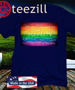 LGBT 2020 T-SHIRT, GAY 2020 TSHIRT HUMAN RIGHTS TEE
