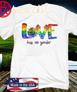 LGBT Love Has No Gender Sunflower 2020 Shirt
