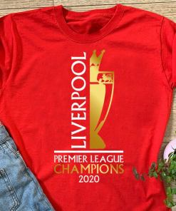 Liverpool 2019/20 Champions Shirt Premier League Winners, LIVERPOOL CHAMPIONS TROPHY 2020 Tshirt Champions League Winners 19 Never Give Up