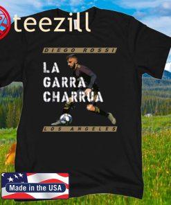 Diego Rossi La Garra Charrua Los Angeles FC T-Shirt