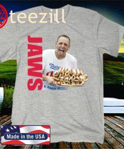 Joey Jaws Chestnut Hot Dog Eating Food Uniex Shirt