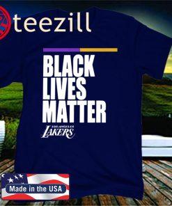 Los Angeles Laker Black Lives Matter Official T-Shirt