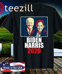Biden Harris 2020 Election Democratic Poster T-Shirt