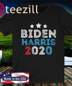 Biden Harris 2020 T-Shirt Vintage Joe Biden Kamala Harris For President 2020 TShirt