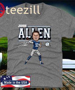 Buffalo Bills Mafia T-Shirt Josh Allen Cartoon