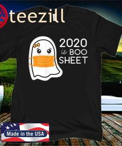 Kawaii Ghost in Mask Tee 2020 is Boo Sheet Shirt