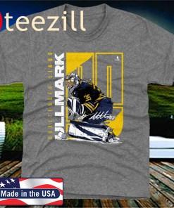 Linus Ullmark Stretch Buffalo Official TShirt