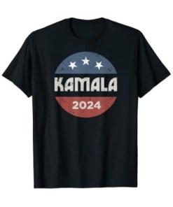Kamala Harris 2020 - 2024 For President Campaign T-Shirt