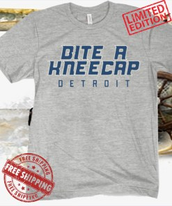 Bite A Kneecap T-Shirt - Detroit Football