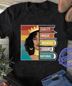 Black Girl quality unique educated elegant natural shirt