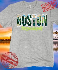 Boston Massachusetts City Shirt