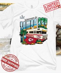 Kansas City Chiefs Super Bowl LV Bound Vacation Shirt