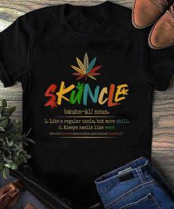 Retro Vintage Skuncle Definition T-shirt, Weed Uncle T-shirt, Men Shirt Gift