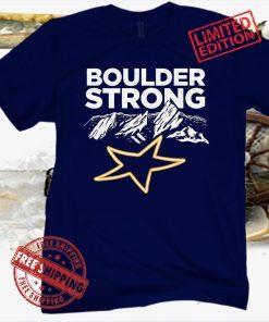 BOULDER STRONG TEE SHIRT