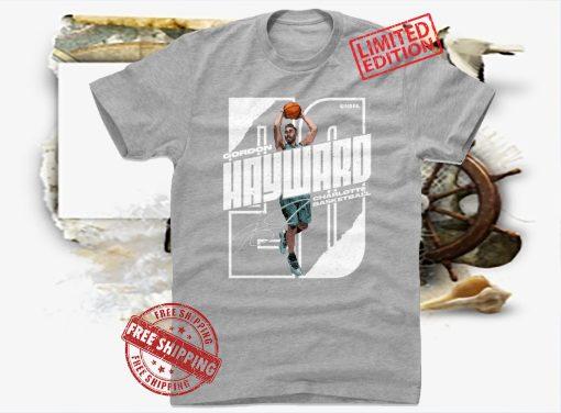 Gordon Hayward Stretch WHT T-Shirt Boston Basketball