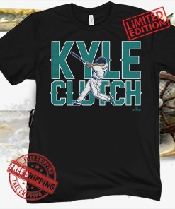 Kyle Seager Clutch Shirt MLBPA Officially Licensed