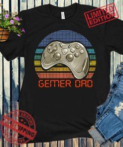Retro Gaming Tshirt, Vintage Gamer Dad Tshirt