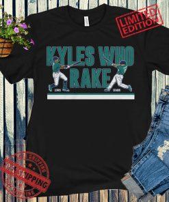 Lewis & Seager Kyles Who Rake Baseball Shirt