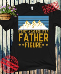 Men It's Not A Dad Bod It's A Father Figure Fathers Day Gift Unisex Shirt