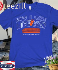 Now It Smells Like Beer Long Island Hockey Unisex Shirt