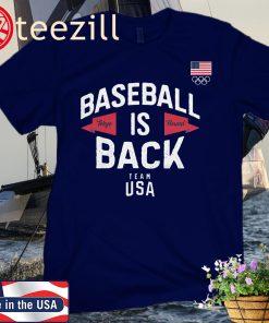 Team USA Baseball is Back Premium T-Shirt
