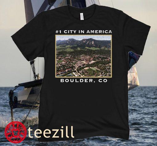 #1 CITY IN AMERICA TEE SHIRT