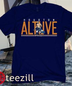José Altuve Walk-Off Premium Shirt