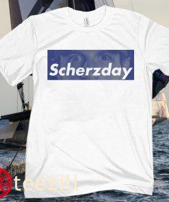 LA Max Scherzer Shirt Scherzday